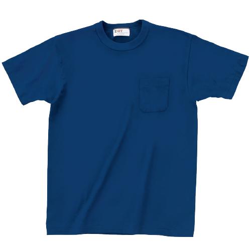 国産無地Tシャツ|15006|ポケット付Tシャツ
