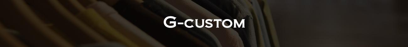 国産素材を使用した小ロット生産対応オーダーメイド「G-CUSTOM(Gカスタム)」
