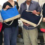 7月30日から8月3日まで帆布の日(8月2日)を記念したワークショップを開催しました。