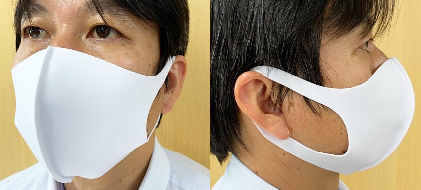 接触冷感マスク(抗菌防臭/吸水速乾/UVカット)