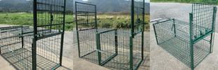 有害鳥獣対策捕獲檻