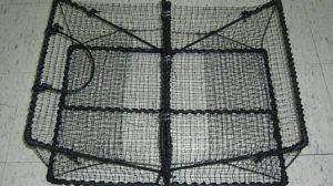 クロタコ背割れ式籠