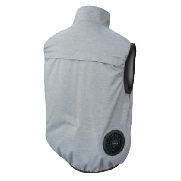 12V/胸スイッチ式 空調ベスト®(フルハーネス対応)フルセット 裏シルバーチタン加工 仕様