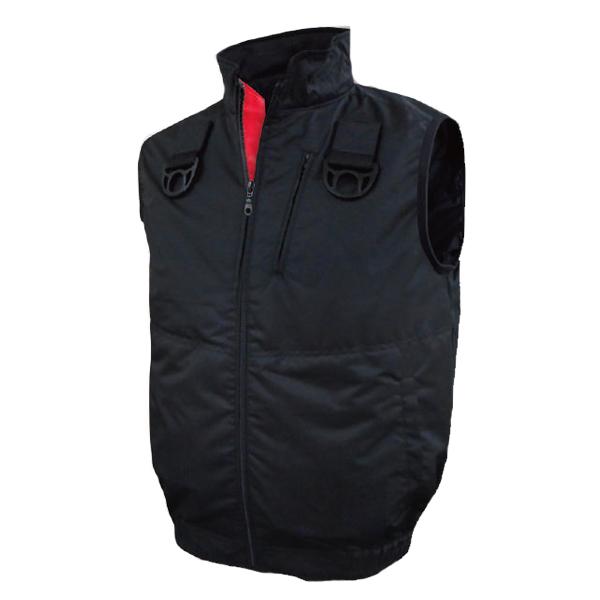 胸スイッチ式 空調ベスト® フルセット 静電服(帯電防止作業服/JIS-T8118適合品) 仕様